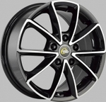 Диск колесные 6.5/16 5x105/56.6/39 Cross street CR-01 BKF